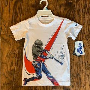 NWT!!  Nike Tee baseball shirt!